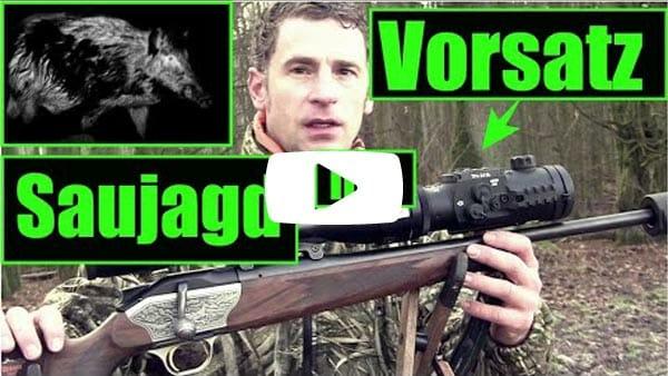 Video: Saujagd mit Vorsatzferät DIPOL TFA 2.0