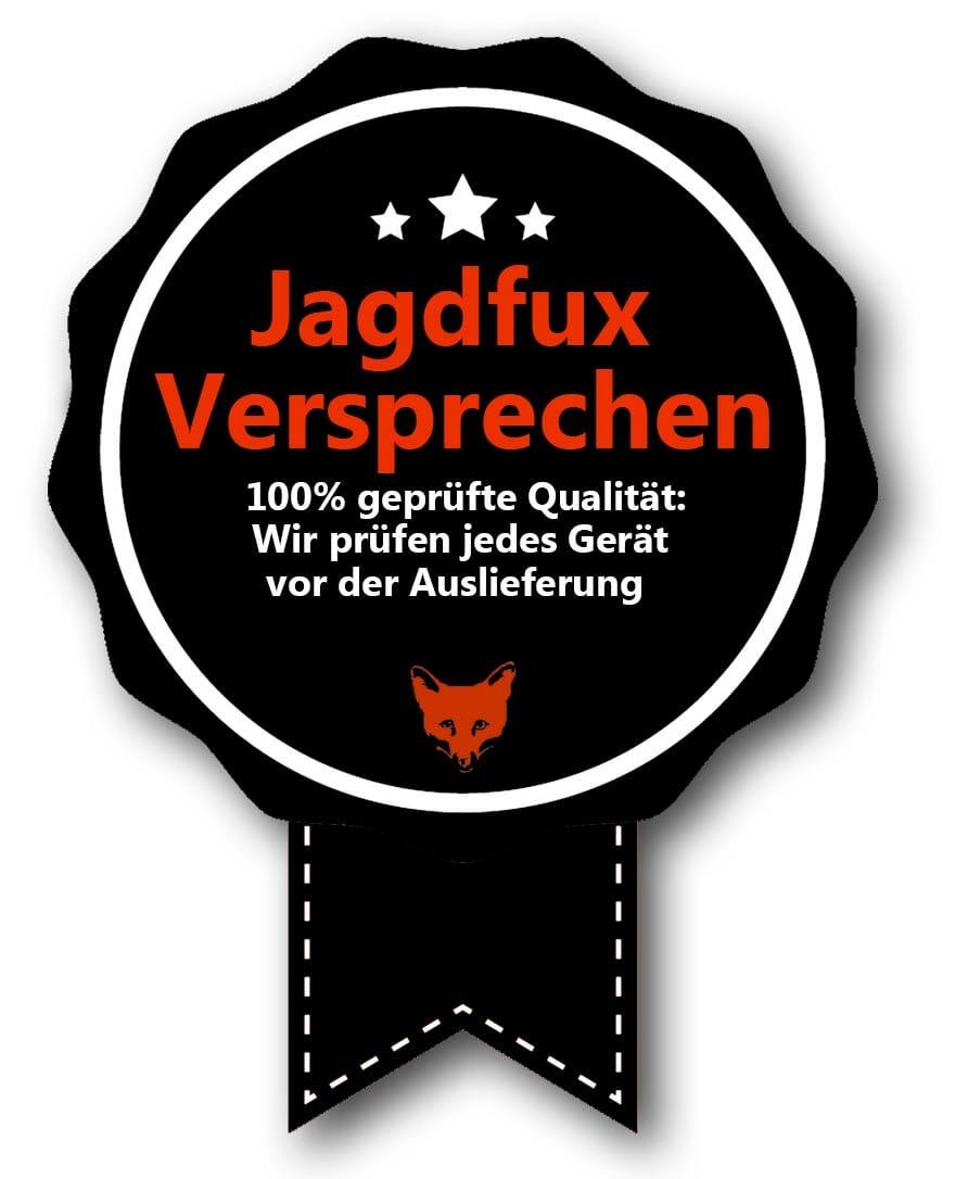 Jagdfux-Versprechen Qualitaet