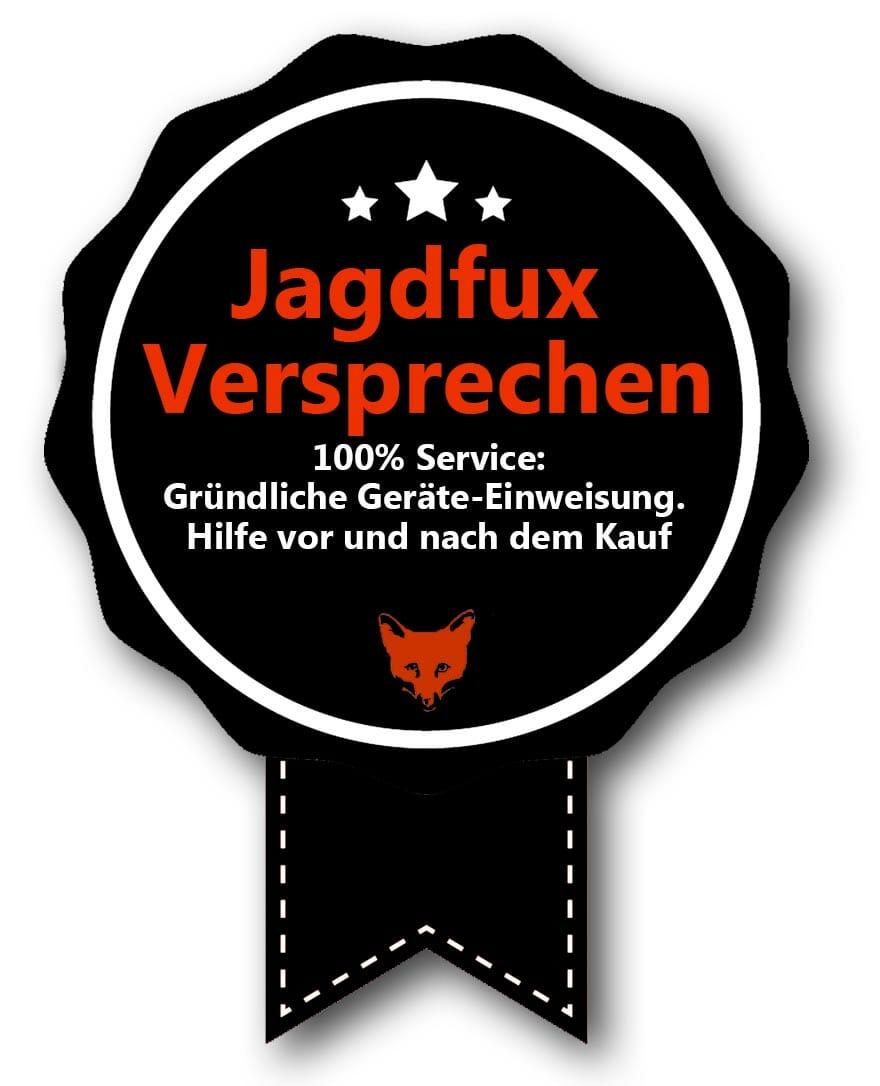 Jagdfux-Versprechen Service