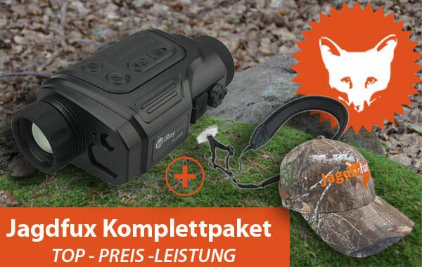 Liemke Keiler 25 LRF + Riemen, Jagdfux Cap